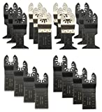 rockwell oscillating tool blades - BaiFM 20PCS Wood/Metal Oscillating Multitool Quick Release Saw Blades Fit Fein Multimaster Porter Cable Black & Decker Bosch Dremel Craftsman Ridgid Ryobi Makita Milwaukee Dewalt Rockwell
