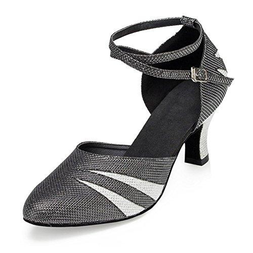 KeKe Shoes - Zapatillas de danza para mujer M023Black
