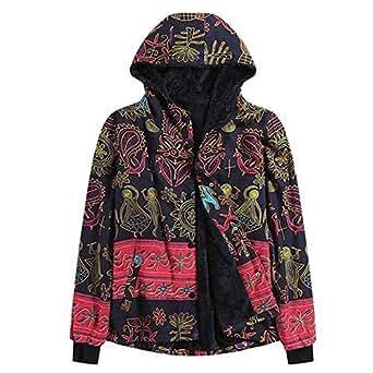 Amazon.com: Women Winter Vintage Thicker Hooded Coat