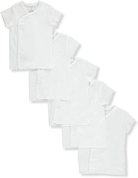 Simple Joys by Carters Baby 6-Pack Side-Snap Short-Sleeve Shirt