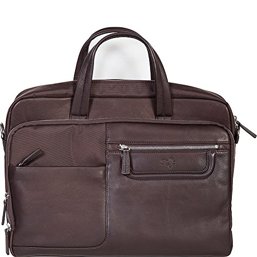 Scully Oakridge Workbag (Chocolate) by Scully