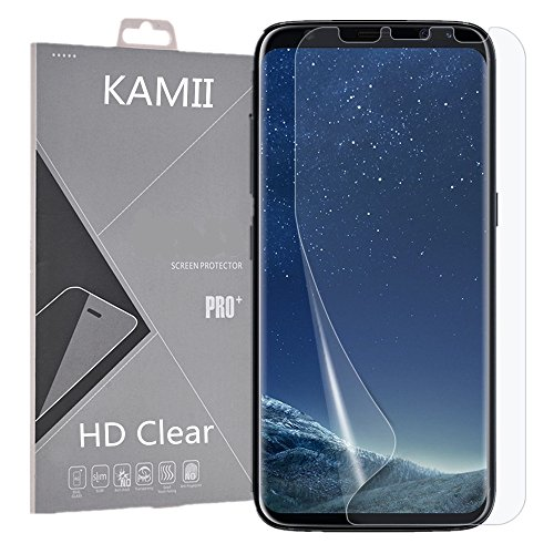 Galaxy S8 Screen Protector, KAMII [Full Coverage] Not Tempered Glass Ultra HD Film Anti-Scratch & Anti-Bubbles High Definition Case Friendly Screen Protector for Samsung Galaxy S8 (1 Pack)