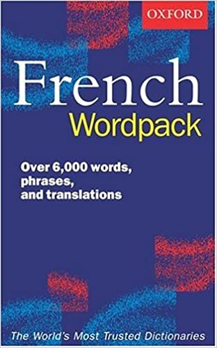 Book Oxford French Wordpack