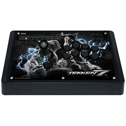 HORI Real Arcade Pro 4 Kai Tekken 7 Edition Fight Stick for PlayStation 4 and PlayStation 3 Officially Licensed by Sony - PlayStation 4