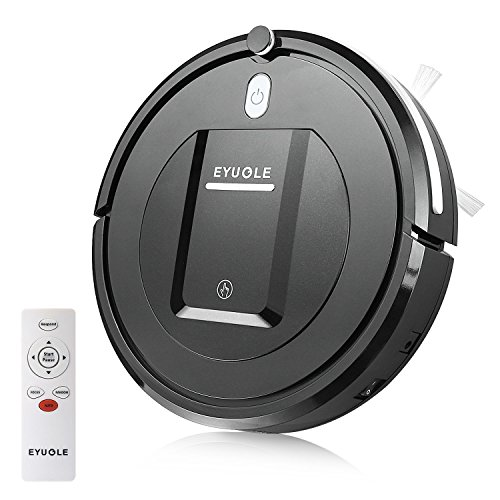 Eyugle Robot Vacuum Cleaner Sweeping Machine Suction Auto Focus Random 3 Cleaning Mode 5cm Anti-Falling Anti-Collision HEPA Filter