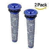 Rekome 2 Pack Washable Pre Motor Filter for Dyson DC58 DC59 V6 V7 V8 Cordless Vacuum Cleaners