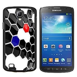 TECHCASE---Cubierta de la caja de protección para la piel dura ** Samsung Galaxy S4 Active i9295 ** --Resumen de Hexagon