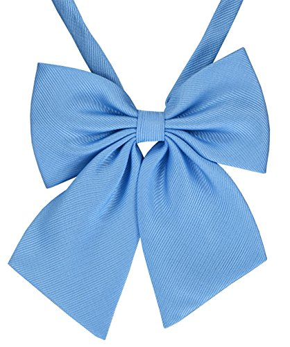 Womens Bow Ties, Solid Color Bow Ties - Various Colors