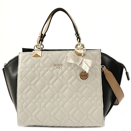 GUESS Women's Ines Chalk Multi Handbag