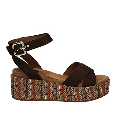 Wrangler WL171641 Wedge sandals Women Brown 5X1dbS