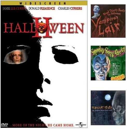 (Halloween II [PARTY PACK] Includes 3 Halloween Theme CDs {Vampire's Lair - Blood thirsty beats from Halloween / Midnight Fever - the ultimate horror party rock / Spooky Song Party)