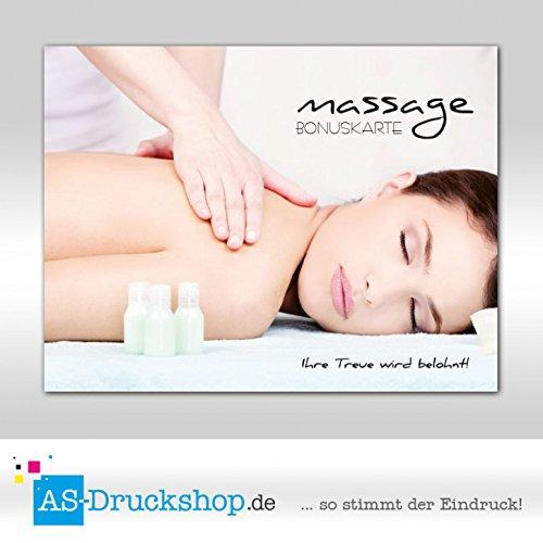 Bonuskarten Massage - Massiert Massiert Massiert 250 Stück B07D3YJ88D | Ausreichende Versorgung  10f4c1
