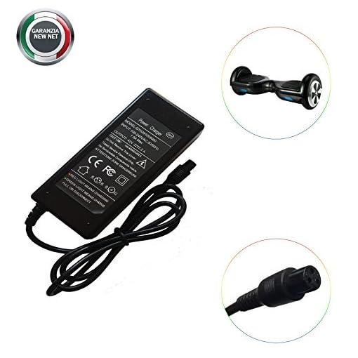 Chargeur adaptateur pour hoverboard électrique 42 V 2 A