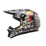 O'Neal Moto XXX OG Helmet (Black/White, Large)