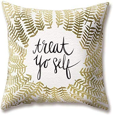 Soft Plush Nordic Cushion Covers Geometric Text Doodle ...