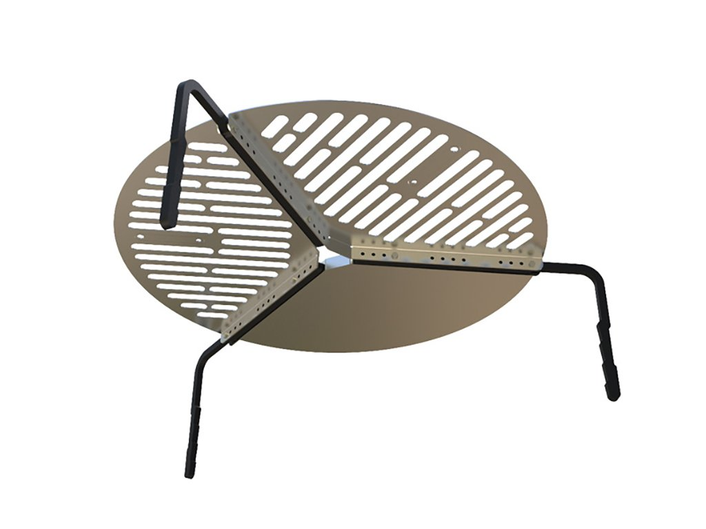 Spare Tire Mount Stainless Steel BBQ Campfire Cooking Grate for Tires up to 37'' - by Front Runner by Front Runner (Image #8)