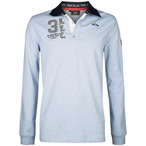 Hv Polo Society Herren Rugbyshirt Pullover Sweatshirt Tomkins Air Melange M L XL XXL