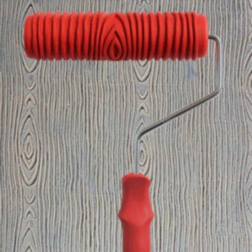 MagiDeal Rouleau à Peindre 7 inch Motif Empaistic Avec Poignée en Plastique Décoration de Mur