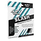 ADV Slash Tennis String – Explosive Powerful Co-Poly – Hexagon Shaped for Max Spin and Response – 40ft Set – 17g