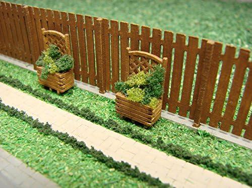 Ferrocarril Miniaturas RMH0:013 Jardín Separación Diorama, 0,5 x 1 ...
