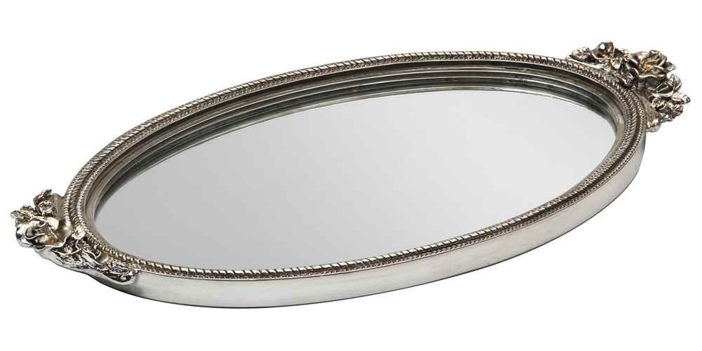Antique Rose Mirror Tray Taymor Industries Inc. 5842975