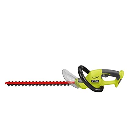 Ryobi P2603 Dual Action Lithium-Ion 18V Cordless Hedge Trimmer, 18-Inch  (Bare Tool)