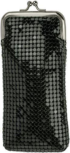Black Vintage Luxuriant Soft 4mm Metallic Mesh (Full Pack 120s) Cigarette Case Purse   (Gold Metal Cigarette Case)