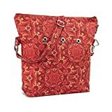 Yarn Pop Totable Knitting Bag - Red & Gold Dazzle