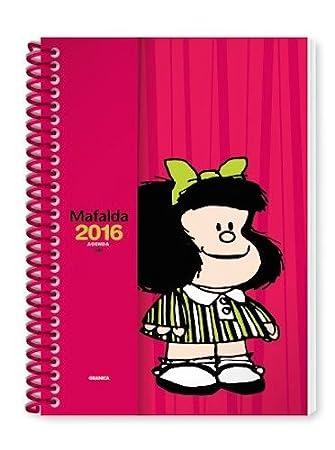 Granica GB24 - Agenda anillada Mafalda 2016, color rojo ...