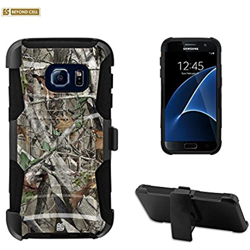 Beyond CellGalaxy S7 Case, S7 Case, Durable High Impact Hard+Soft Hybrid Rugged Case Built in Kickstand&Belt Sales