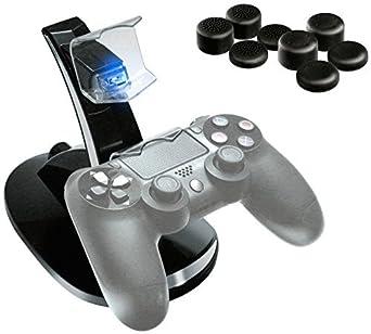 2tainment Pack ahorro de cargador con 8 tapas de joystick ...