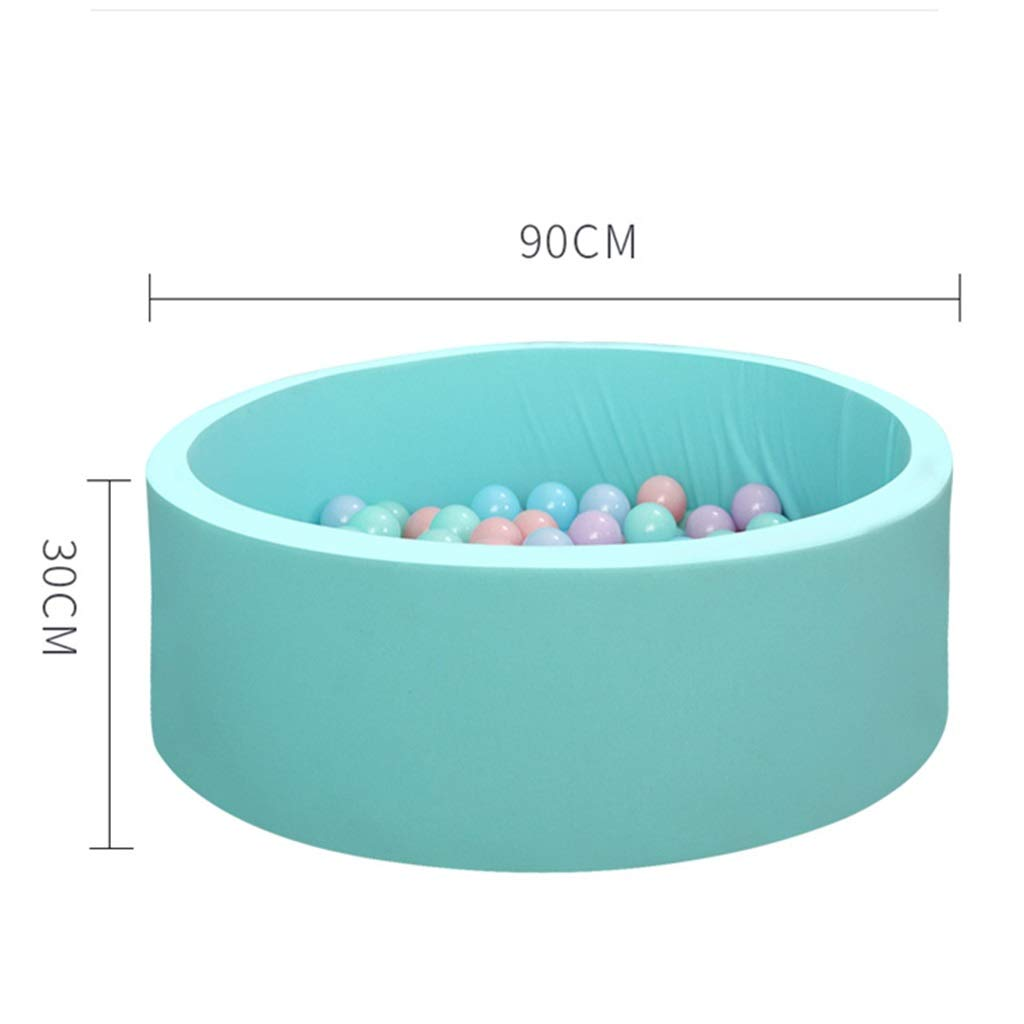 YINER Children's Fence, Marine Ball Pool Children Nordic Thickening Non-Toxic Baby Indoor Play Fence (Color : Blue) by YINER (Image #2)