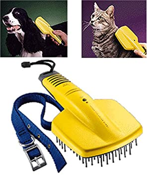 Sharper Image Ionic Bath Pet Brush Small Amazoncouk Pet Supplies