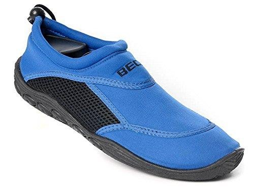 Beco 9217 Damen- und Herren Surf- und Badeschuh blau/schwarz Gr. 36