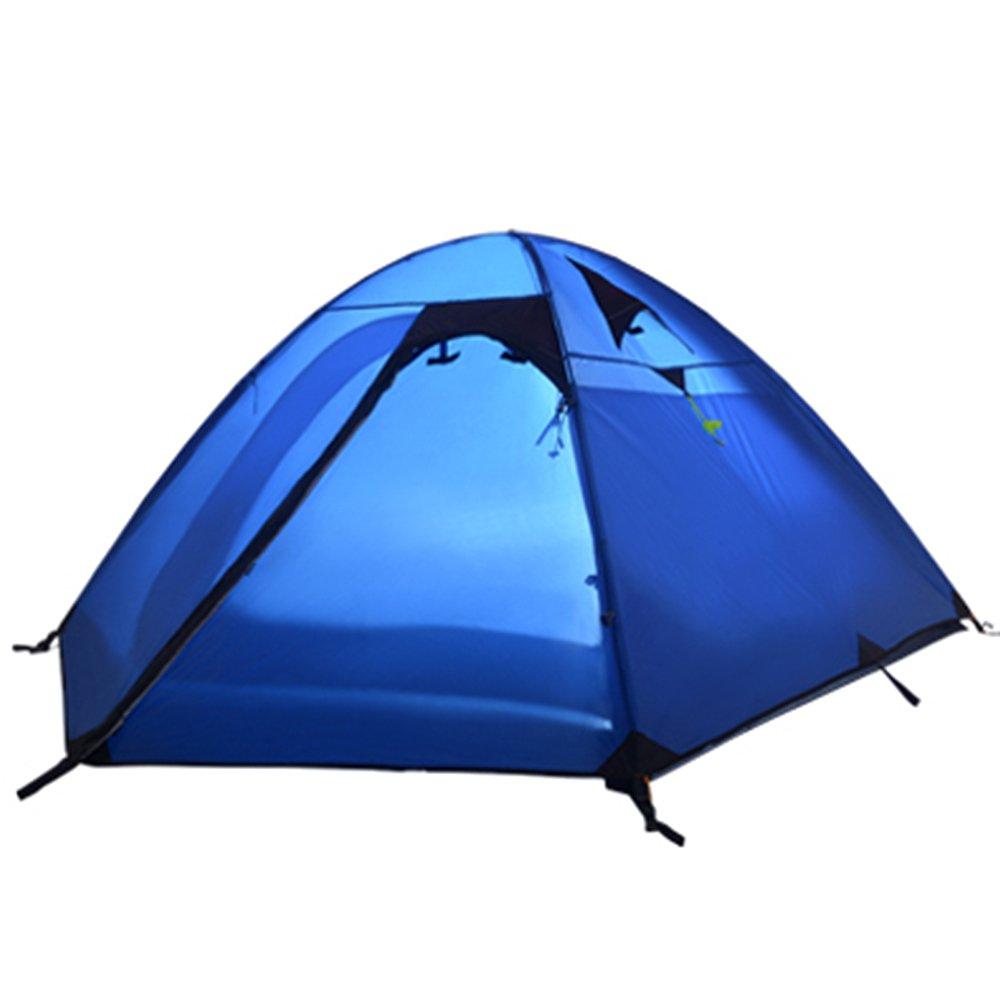 Outdoor Camping Zelt Multiplayer Aluminiumstange atmungsaktiv wasserdicht Winddicht regendicht Camping tragbare 3 Leben