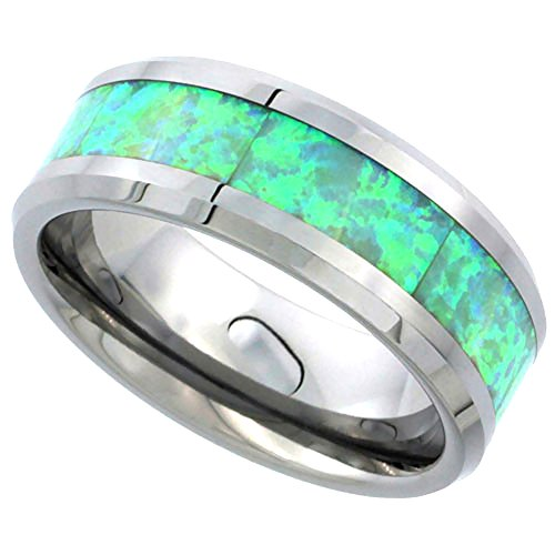 Tungsten Wedding Synthetic Beveled Comfort