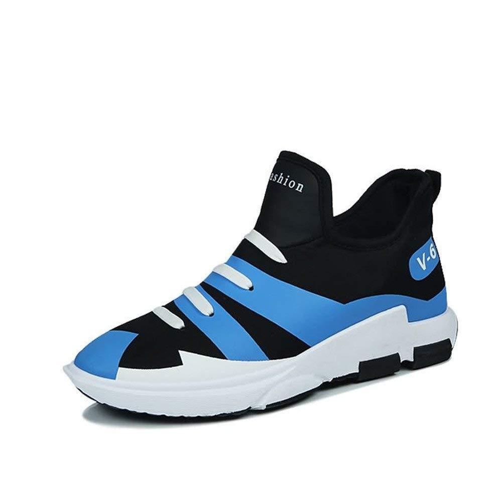 FuweiEncore 2018 Die Athletischen Turnschuhe der Männer Sind Nicht zufällig mit Einer Pedal-Persönlichkeit zu Den haltbaren Sport-Schuhen (Farbe   Weiß, Größe   44 EU) (Farbe   Blau, Größe   39 EU)