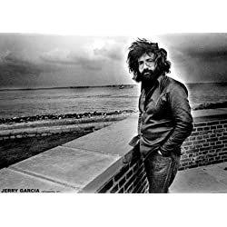 Jerry Garcia The Grateful Dead Rock Music PAPER Poster Measures 33 x 24 inches (84 x 60 cm) approx