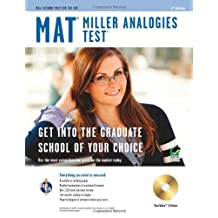 Miller Analogies Test (MAT) w/CD-ROM