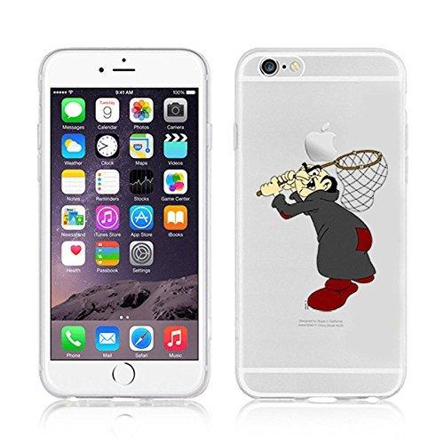 Disney Smurfs Transparent Clear TPU Soft Case For Apple iPhone 7 Plus GARGAMEL