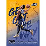 2018-19 NBA Hoops Get Out The Way Retail Insert #8 Donovan Mitchell Utah Jazz.