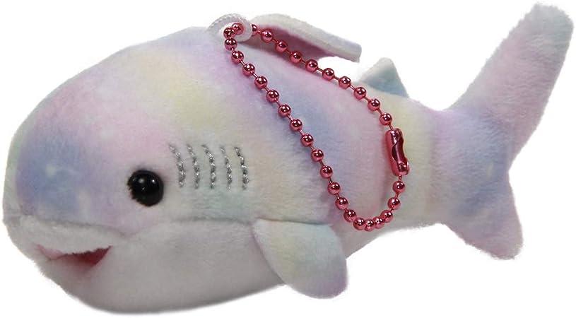 Whale Shark Plush Doll Soft Stuffed Animal 8 Inches Pink White Dot Kawaii NEW
