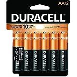 Duracell Coppertop AA Alkaline Battery - 12 Pack