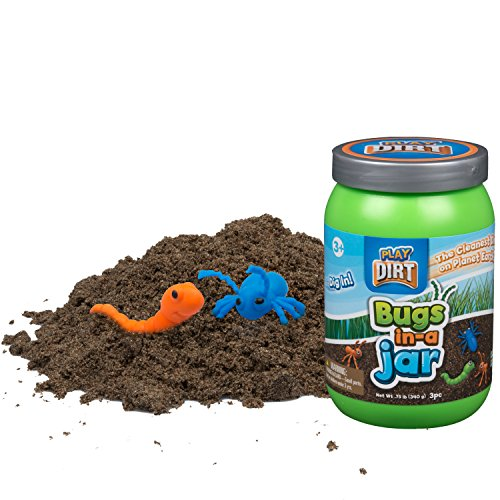 (PLAY VISION INC. 3004 Play Dirt Bugs In A Jar 12Oz 12)