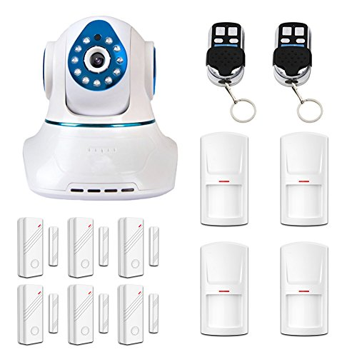 Eray Home Video WIFI Camera Security Alarm System Hi3518 720P Million HD H264 Night Version with IOS/Android App (M)