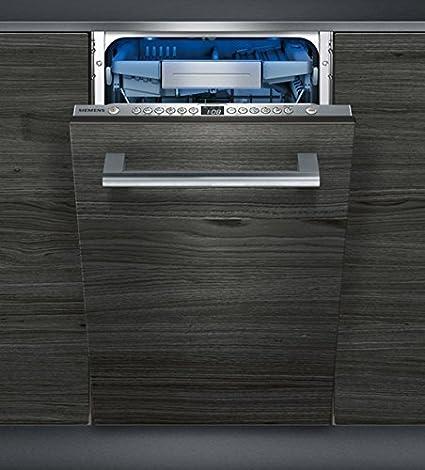 Siemens iQ500 SR656X01TE lavavajilla Totalmente integrado 10 ...