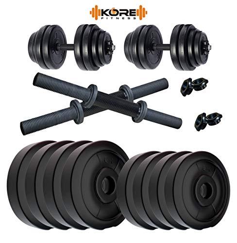 Kore K DM DRB 22kg Combo 16 Dumbbells Kit
