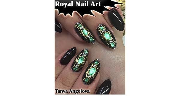 Amazon Royal Nail Art How To Create King Size Liquid Stone