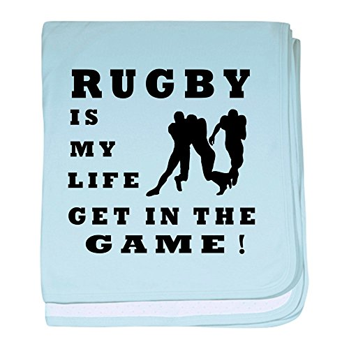 CafePress - Rugby is My Life - Baby Blanket, Super Soft Newborn Swaddle