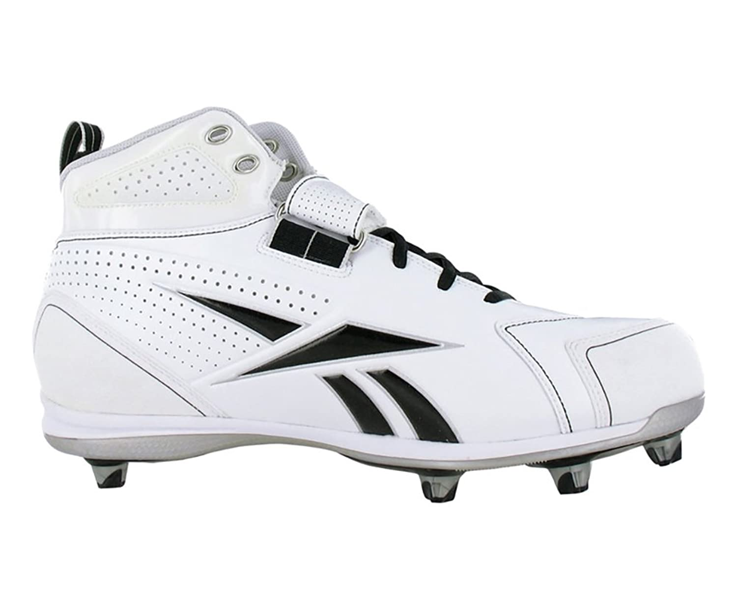 Reebok Pro Thorpe III Hex Men's Football Shoes Size US 15, Regular Width, Color  Black/White/Silver: Amazon.co.uk: Shoes & Bags